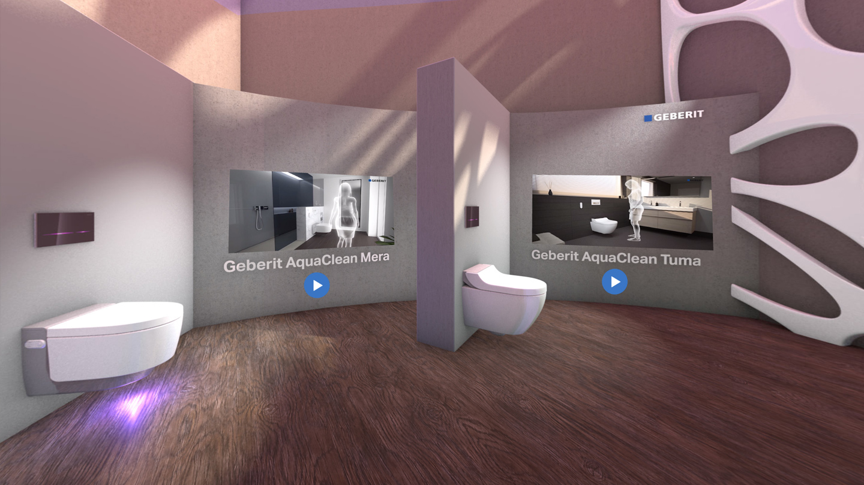 Bandara Project Geberit Vr Showroom